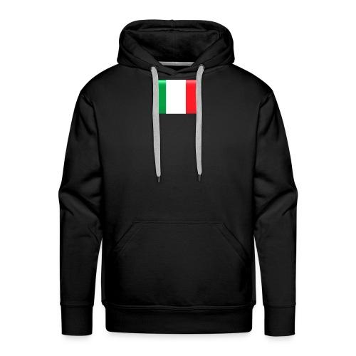 Muurprint wanddecoratie Vlag van Italie 03 jpg - Mannen Premium hoodie