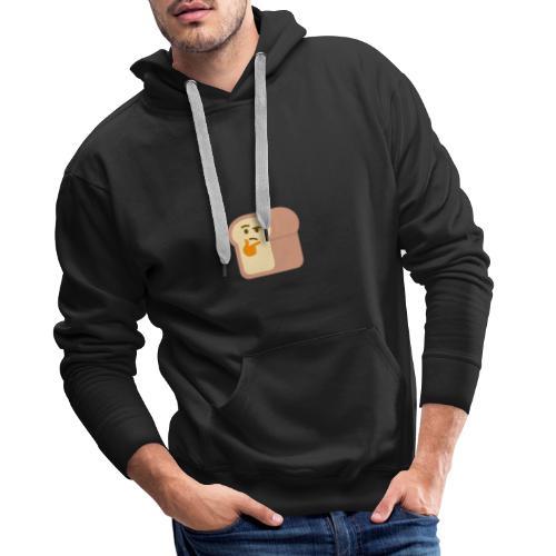 Thinking bread - Sweat-shirt à capuche Premium pour hommes