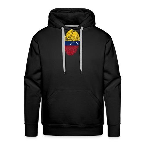 Venezuela - Sudadera con capucha premium para hombre