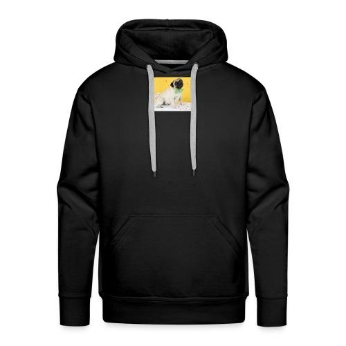 Mopsliebe - Männer Premium Hoodie