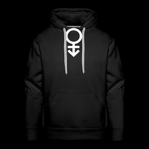 Genderqueer symbol - Men's Premium Hoodie