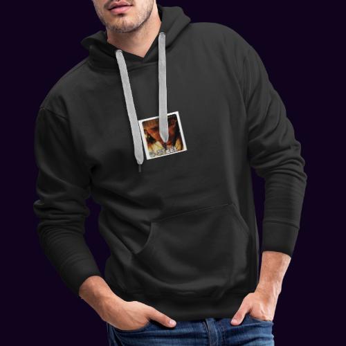 Vein' à la Soufriyè (T-shirt) - Sweat-shirt à capuche Premium pour hommes