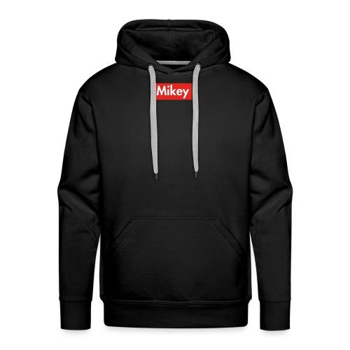 Mikey Box Logo - Men's Premium Hoodie
