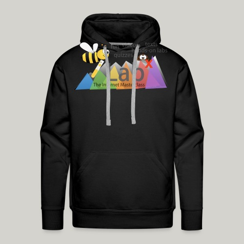 iLabX - The Internet Masterclass - Men's Premium Hoodie