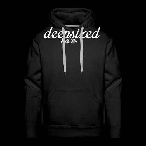 deepsized weiß gif - Männer Premium Hoodie