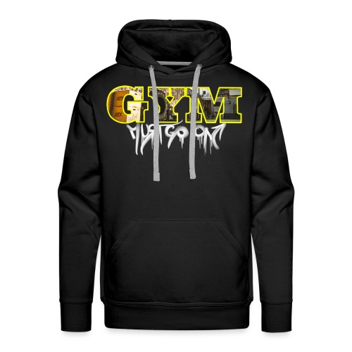 CORONA #2 // THE FIELD - Gym Must Go On - Männer Premium Hoodie
