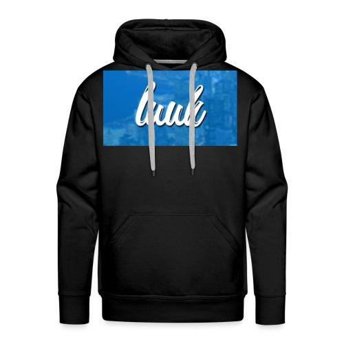 Box Logo Blauw - Mannen Premium hoodie