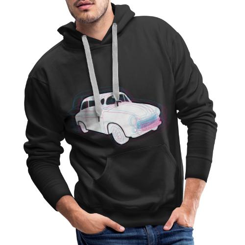 syrenka fso 01 - Bluza męska Premium z kapturem