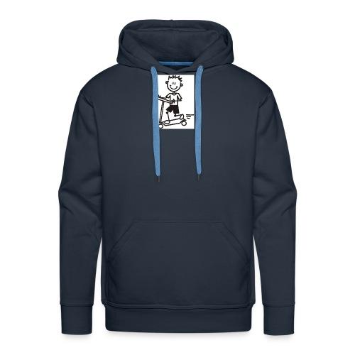 Børne Kollektion - Herre Premium hættetrøje
