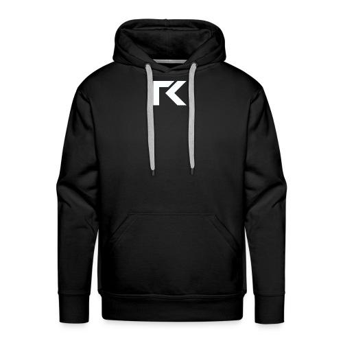 Rxmsey Logo - White - Men's Premium Hoodie
