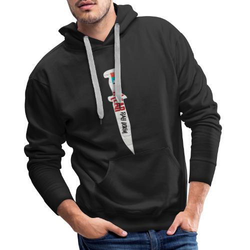 Razor sharp street wear - Men's Premium Hoodie