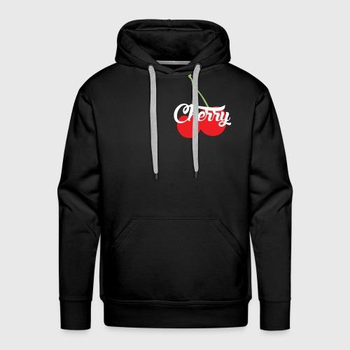 Cherry - Sweat-shirt à capuche Premium pour hommes