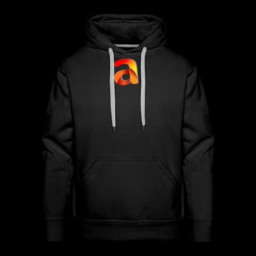 Logoa - Sudadera con capucha premium para hombre