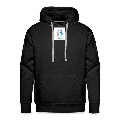 Girl Meets Boy - Men's Premium Hoodie