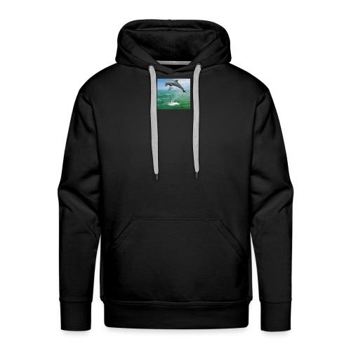 dauphin - Sweat-shirt à capuche Premium pour hommes