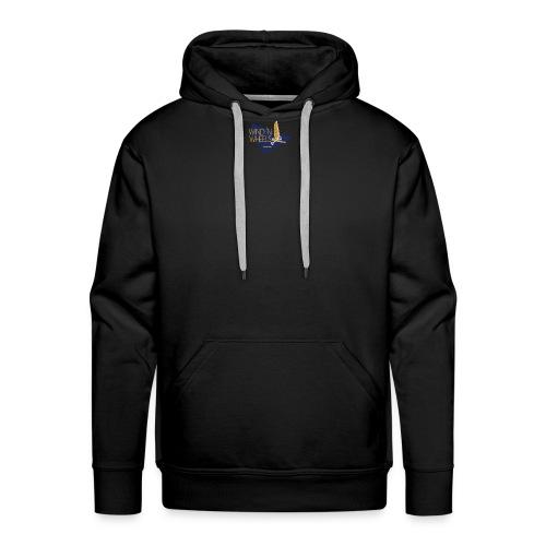 logobluegoldww png - Mannen Premium hoodie