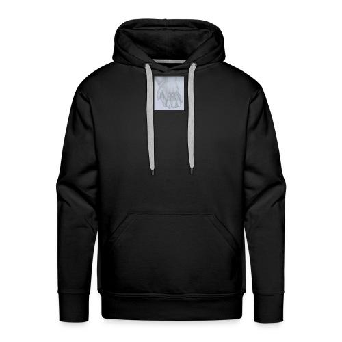 main dans la main - Sweat-shirt à capuche Premium pour hommes