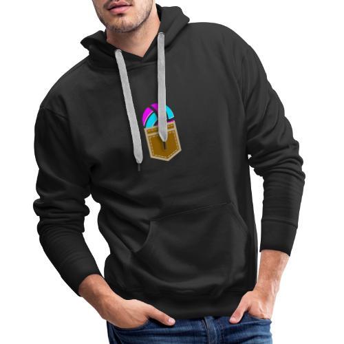 Volley in the Pocket - Sweat-shirt à capuche Premium pour hommes