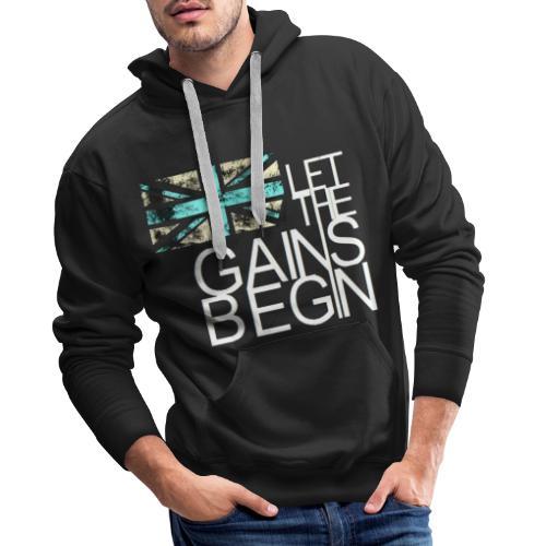 Great Britain let the games begin design. - Men's Premium Hoodie