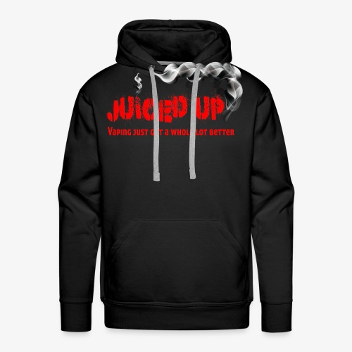 juiced up clothing range vaping just got a whole l - Men's Premium Hoodie