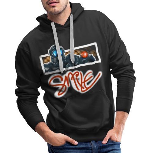Smile Design - Männer Premium Hoodie