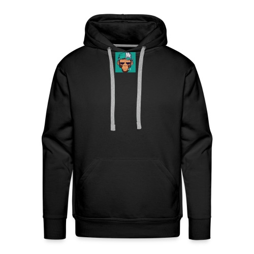 Første tshirte gratis - Premium hettegenser for menn