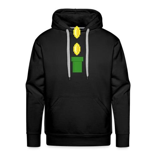 Pipeline Coin - Sudadera con capucha premium para hombre