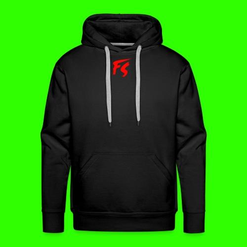 FS Logo rood - Mannen Premium hoodie