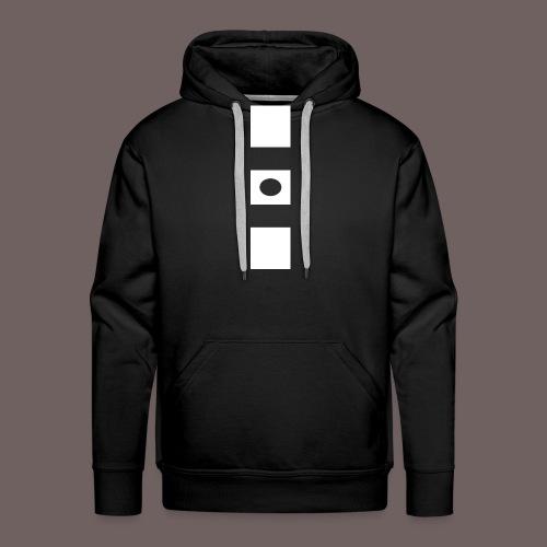 GBIGBO zjebeezjeboo - Rock - Blocs 3 - Sweat-shirt à capuche Premium pour hommes