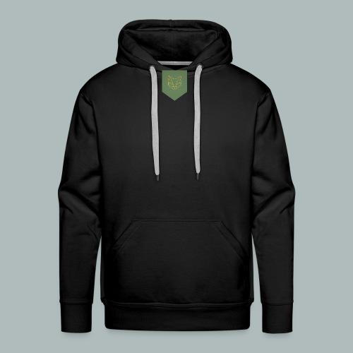 Sac à Dos Blason - Sweat-shirt à capuche Premium pour hommes