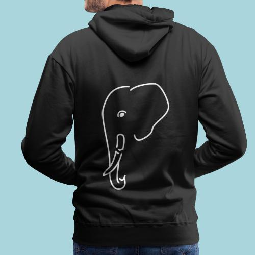 Great Ones Fear Too - Mannen Premium hoodie