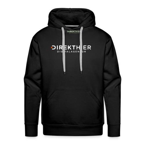 DIREKTHIER Logo - Männer Premium Hoodie
