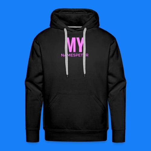 MYNAMESPEter - Men's Premium Hoodie