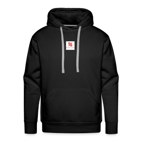 hunter plays - Men's Premium Hoodie