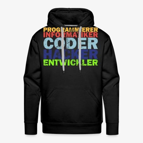 Programmierer T-Shirt - Männer Premium Hoodie
