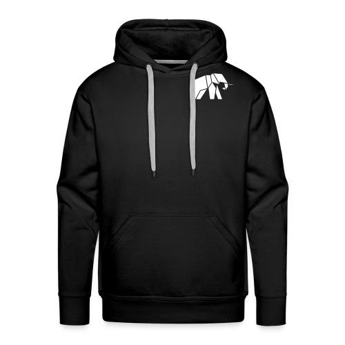 Schönes Elefanten Design für Elefanten Fans - Männer Premium Hoodie