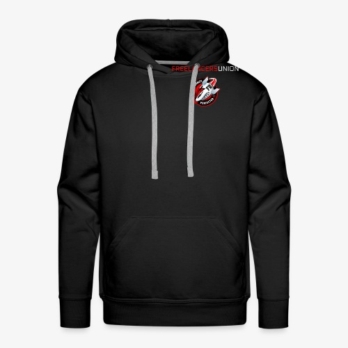 Decal and text - Men's Premium Hoodie