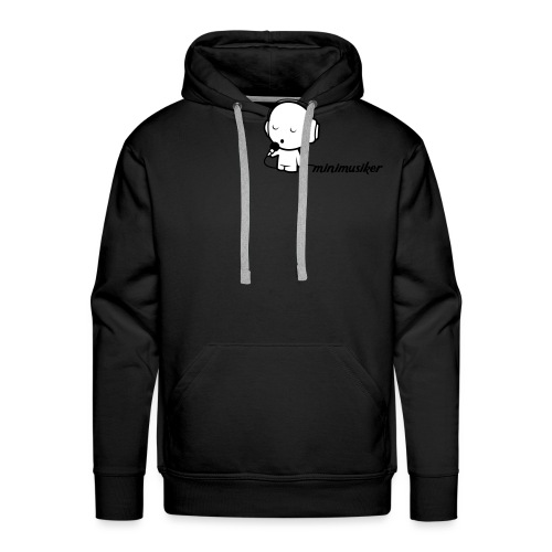 Minimusiker Logo - Männer Premium Hoodie