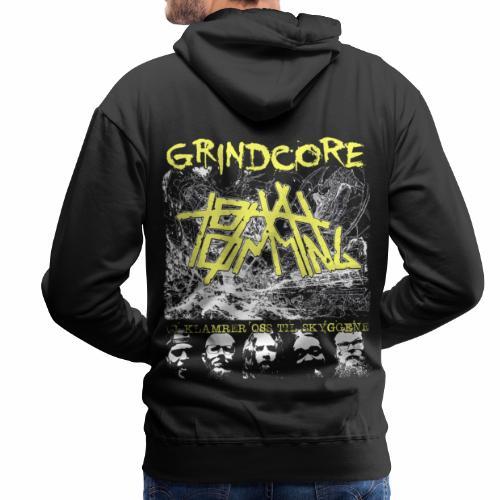 Grindcore tryner - Vi klamrer oss til skyggene - Premium hettegenser for menn