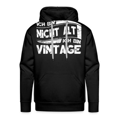 Ich bin Vintage - Männer Premium Hoodie