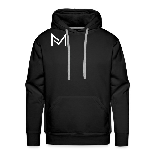 YouTube Logo For MarcelMedia - Men's Premium Hoodie