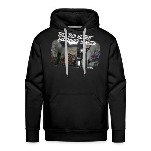 Ontwerp 1 goeie png - Mannen Premium hoodie