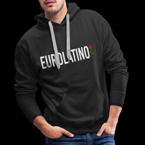 Eurolatino - Felpa con cappuccio premium da uomo