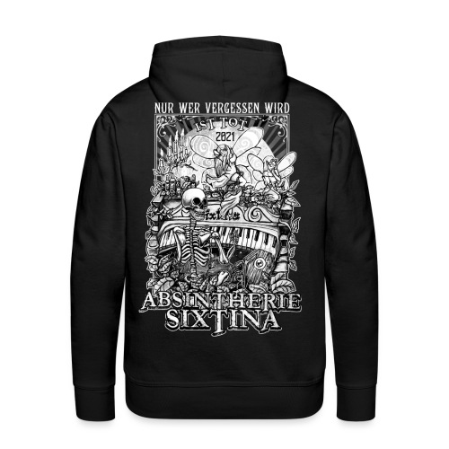Absintherie Sixtina 2021 - Sixtina Support - Männer Premium Hoodie