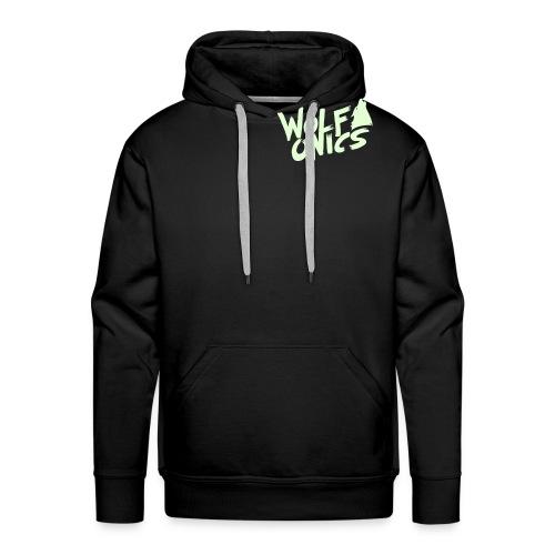Wolfonics Logo Vektor kl - Männer Premium Hoodie