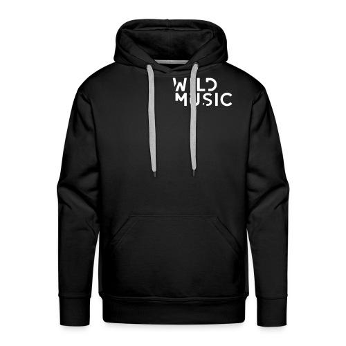 Wild Music Logo - Sudadera con capucha premium para hombre