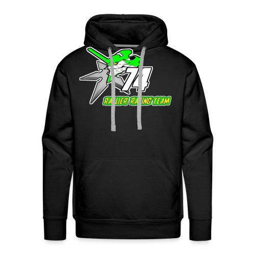 Rallier Racing Team - Sweat-shirt à capuche Premium pour hommes