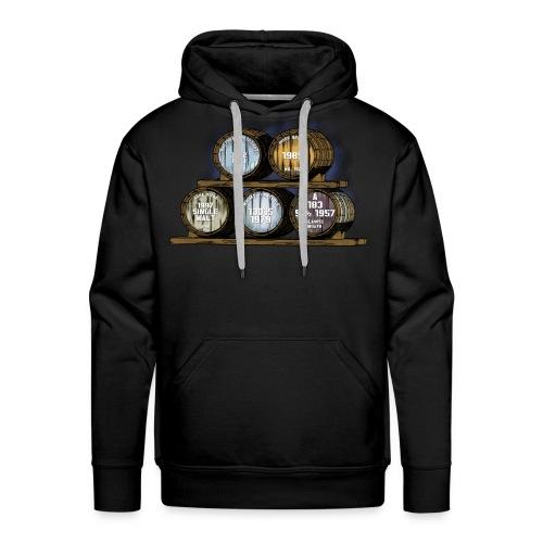 Whisky Fässer - Whisky Fan Shirt Whisky Turntable - Männer Premium Hoodie
