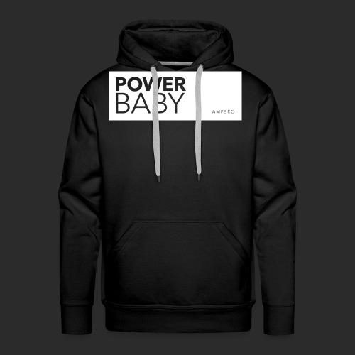 AMPERO Power Baby - Männer Premium Hoodie