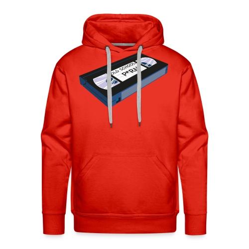 OLD SCHOOL P * RN vhs - Sweat-shirt à capuche Premium pour hommes